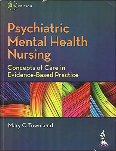 Amazon Com Psychiatric Mental Health Nursing Concepts Of Care In