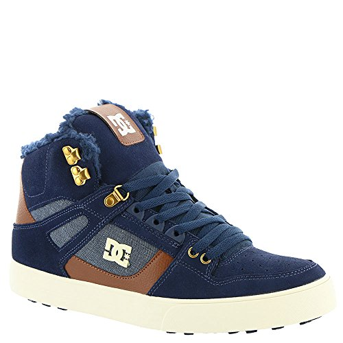 Mens Skateboard WNT Shoes Nvy WC Schuhe High Blau DC Spartan Y577x