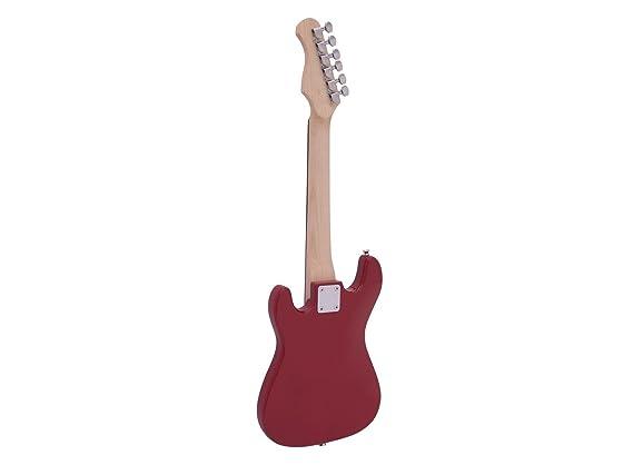 Guitarra eléctrica para niños PATRON START con accesorios, rojo - Instrumento / Golpeador blanco- showking: Amazon.es: Hogar
