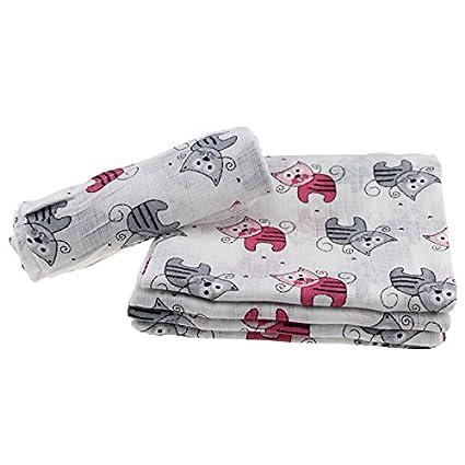 Pañales de tela de algodón 70 x 80 cm D67 plástico algodón Vómitos Baby Pañales
