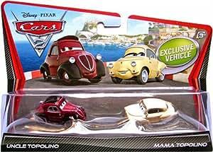 Amazon.com: Disney Pixar Cars 2 Die-Cast Uncle Topolino