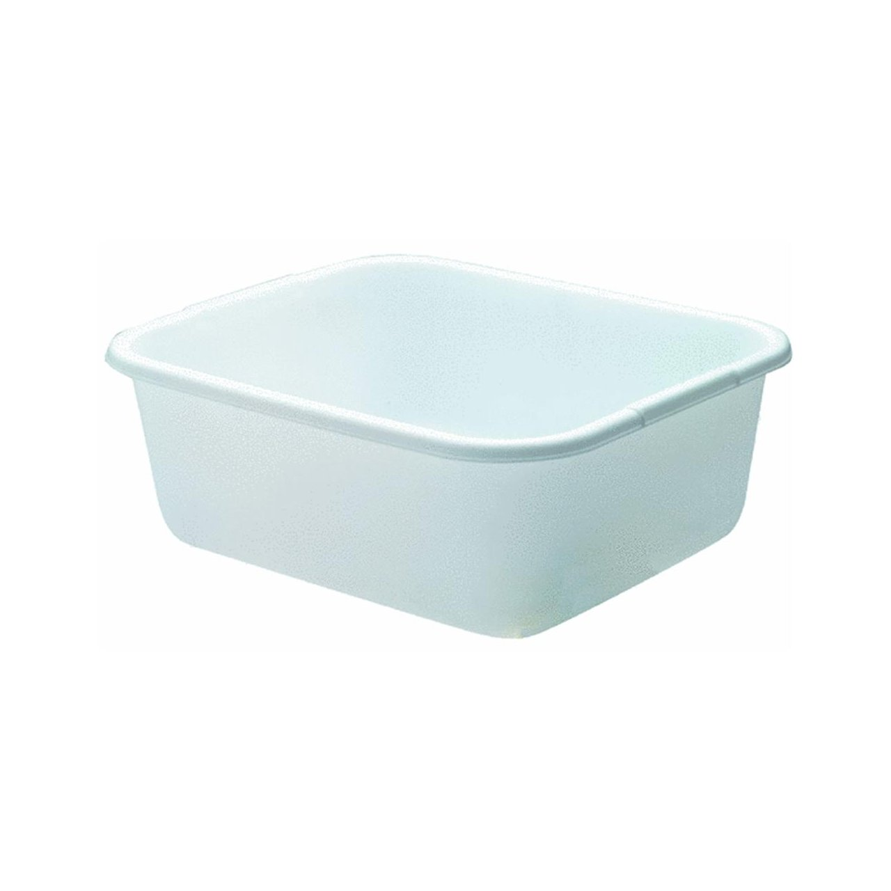 Rubbermaid 2951ARWHT 11.4 Quart White Rectangle Dishpan Rubbermaid Inc