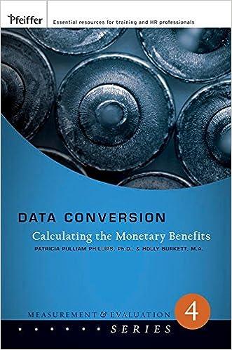 Téléchargement de livres gratuits sur ipad [Data Conversion: Calculating the Monetary Benefits] (By: Jack J. Phillips) [published: February, 2008] en français PDF DJVU B0175J2TAW