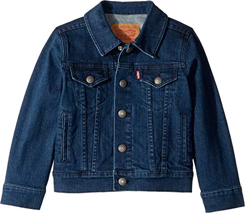 - Levi's Boys' Little Denim Trucker Jacket, Two Tone, 5