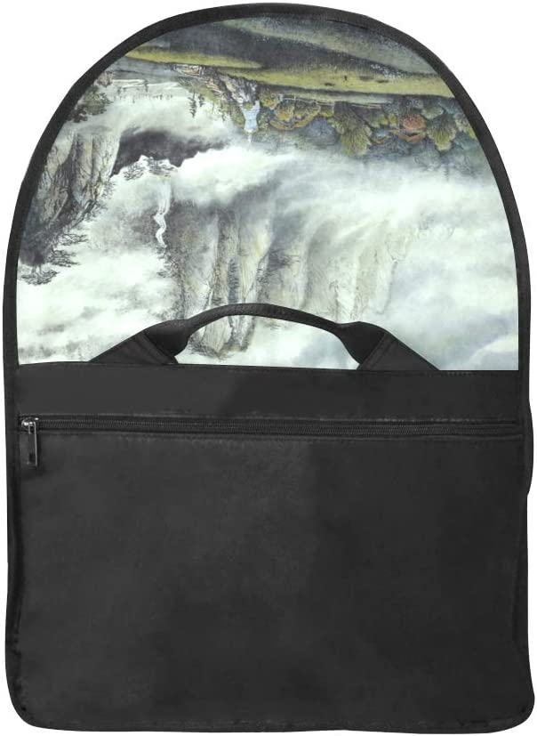 Laptop Bag for Girls Beautiful Landscape Paintings Multi-Functional Women Briefcase Laptop Fit for 15 Inch Computer Notebook MacBook