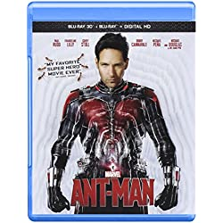 Ant-Man [Blu-ray+ Digital Copy + 3D + Blu-ray + Digital HD]