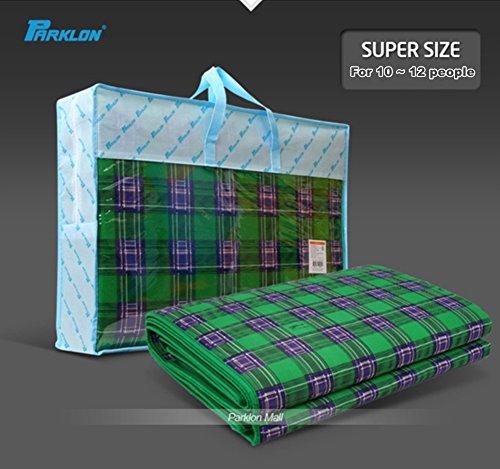 Parklon Grand Taebaeksanmaek Big Size Giant Premium Mat 270 x 260cm (For 10 ~ 12 people) with Carry Bag by Parklon (Image #1)
