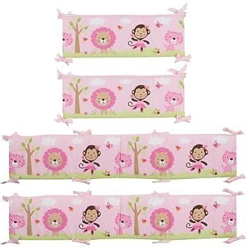 Amazon.com : Just Born Sassy Safari Baby Crib Bumper by Triboro ... : triboro quilt - Adamdwight.com