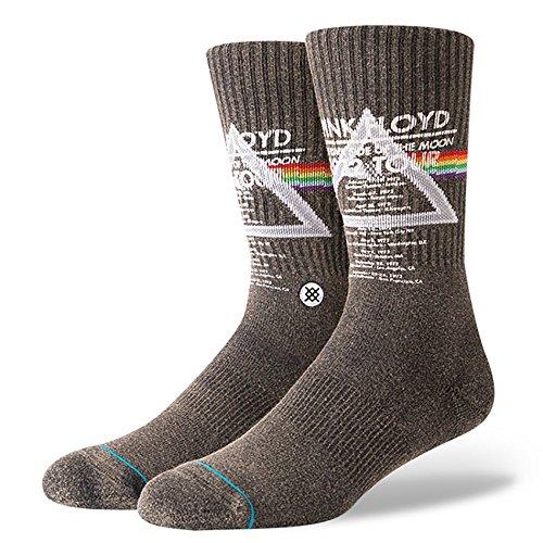 STANCE Men's Pink Floyd 1972 Tour Socks, Black, Medium
