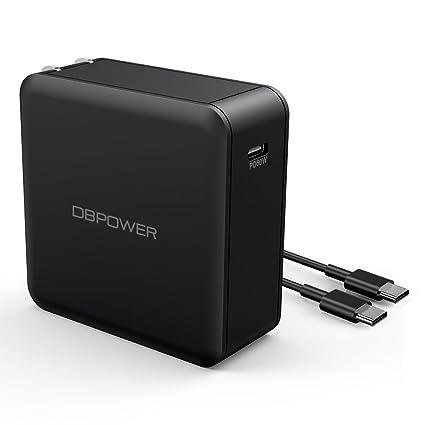 Amazon.com: DBPOWER USB Type-C con entrega de potencia 60 W ...