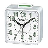Casio TQ-140-7EF Wake Up Timer Alarm Clock - White