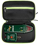 Professional Case for Circuit Breaker Finder both Receiver and Transmitter for brands like Extech CB10, Klein Tools ET300 and others also for GCA-07W Geiger Counter Nuclear Radiation Detector