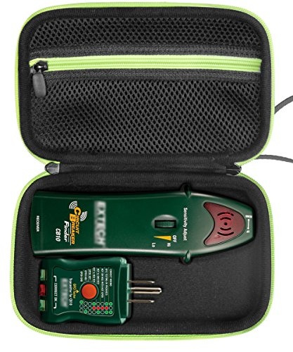 Transmitter Receiver Circuits - Professional Case for Circuit Breaker Finder both Receiver and Transmitter for brands like Extech CB10, Klein Tools ET300 and others also for GCA-07W Geiger Counter Nuclear Radiation Detector