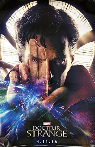 (DOCTOR STRANGE (2016) Original Authentic Movie Poster 27x40 - Dbl-Sided - FRENCH VERSION - ADVANCE - Benedict Cumberbatch - Tilda Swinton - Chiiwetel Ejiofor - Rachel)
