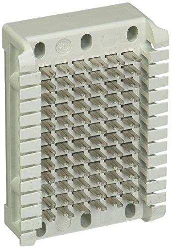 (Hubbell HPW66B16 Block, Modular, 66B Block, Fits 6 Pairs, Pack of 1)
