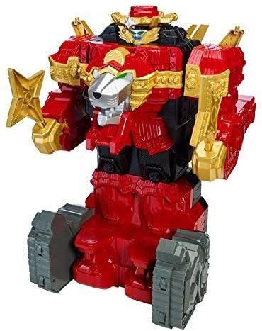 Power Rangers Ninja Steel Lion Fire Fortress Zord 20 inch Action Figure