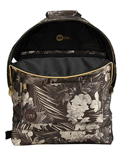 Mochila Metallic Tipo Unica pac Backpack Casual Talla Mi Gold Black qw8t67xg