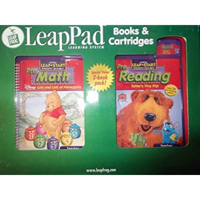 Leap Pad Learning System Pre Math and Pre Reading Books & Cartridges: Toys & Games