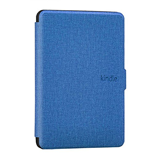 Goaeos Case for Kindle Paperwhite - PU Leather Cover with Auto Sleep/Wake for All-New Amazon Kindle Paperwhite (Fits All Generations), Dark Blue