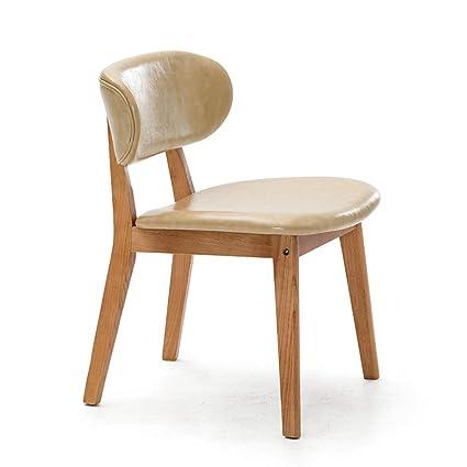 Amazon.com: Wenbo Home- adulto silla de respaldo, moderno ...