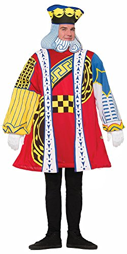King Of Hearts Costumes For Adults (King of Hearts Playing Card Adult Costume)