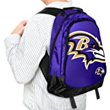 Forever Collectibles NFL Baltimore Ravens Core Structed Backpack
