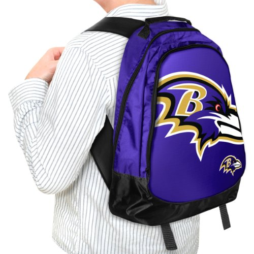 Forever Collectibles NFL Baltimore Ravens Core Structed Backpack by Forever Collectibles