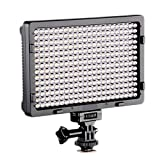 LED PT-308 Dimmable Ultra High Power Panel Digital Camera / Camcorder Video Light, LED Light for Canon, Nikon, Pentax, Panasonic,SONY, Samsung and Olympus Digital SLR Cameras