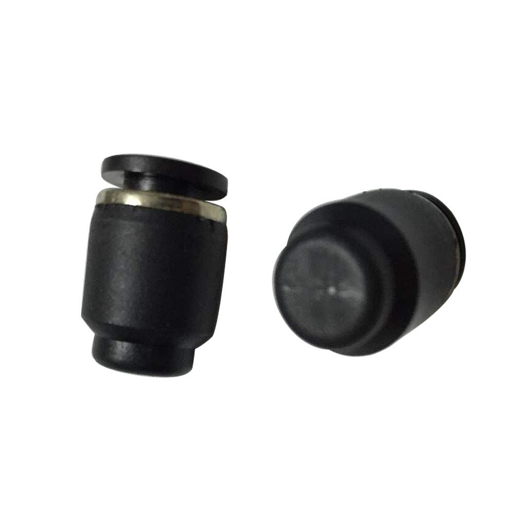 Avanty Push in to Connect Tubing Quick Cap Plug Fitting 5//16 OD Pack of 20