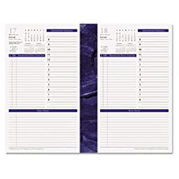 FDP37063 FranklinCovey Monticello Dated One Page-per-Day Planner Refill