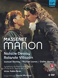 CLASICA VIRGIN-MASSENET:MANON,VILLAZON,DESSAY