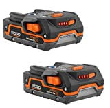 Ridgid ZRR840085 Hyper Lithium Ion Battery (2 Pack) (Certified Refurbished)