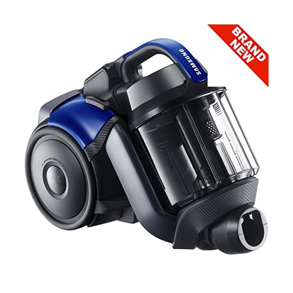 SS448 - SAMSUNG 2 LITRE PET VC07F50HUXB CYLINDER BAGLESS VACUUM CLEANER WITH EXTREME SUCTION & CONTROLS ON HANDLE 220 aW 2YR WARRANTY