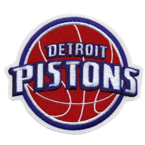 Detroit Pistons Logo Patch Detroit Pistons Applique