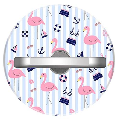 Skirt Sunrise (Premium Cell Phone Ring Holder,360 Degree Rotation Universal Ring Grip Stand Anti- Drop Finger Holder Smartphone Tablets - Flamingoes Skirts)