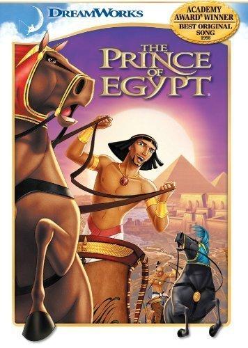 The Prince of Egypt by Dreamworks Animated by Simon Wells, Steve Hickner Brenda Chapman