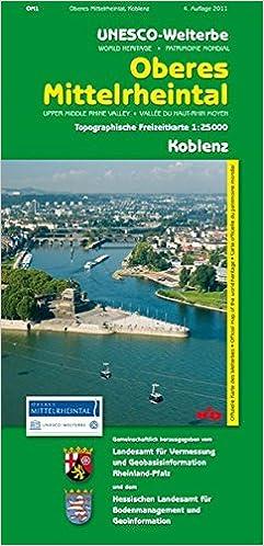 Mittelrheintal Karte.Unesco Welterbe Oberes Mittelrheintal Koblenz Wr