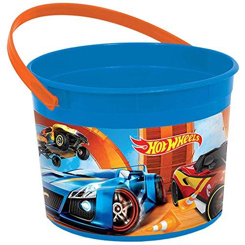 Hot Wheels Wild Racer Plastic Favor Container