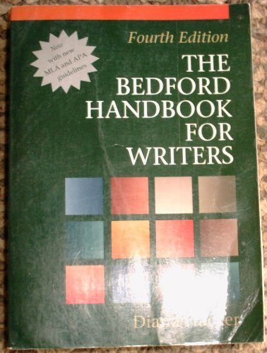 The Bedford Handbook for Writers: With Mla Update (Bedford Handbook for Writers, 4th Ed.)