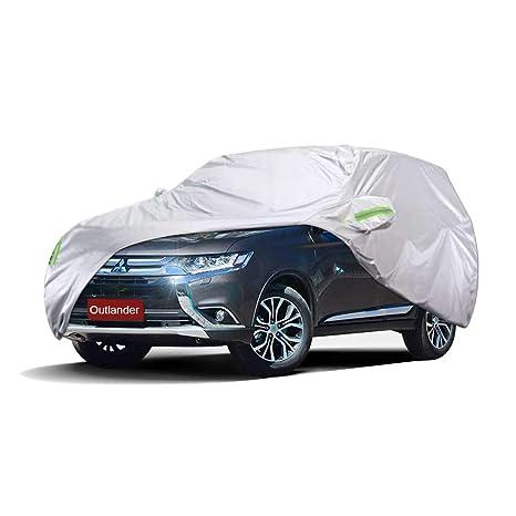 Cubierta de coche Mitsubishi Outlander Cubierta especial del coche SUV Grueso Oxford Tela Protección solar A