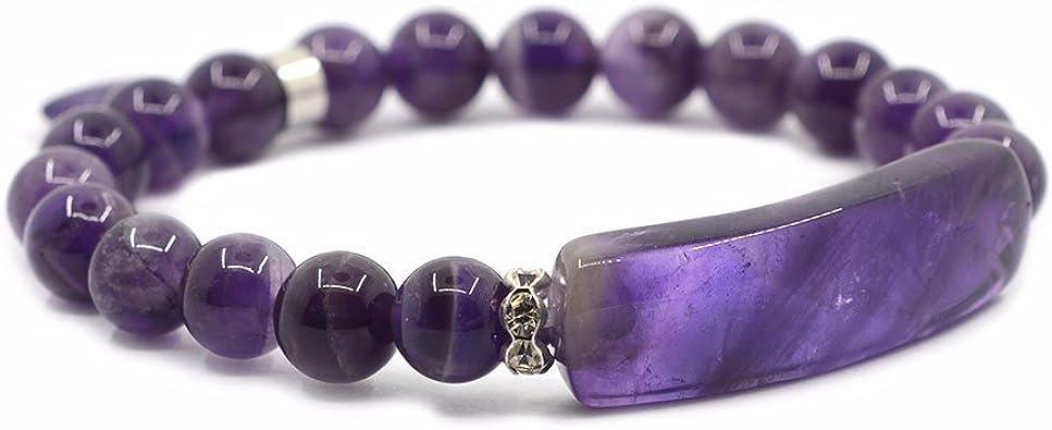 Amazon.com: Justinstones Brazalete unisex de gemas ...