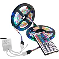 Modao 600 LED Strip Light String Tape with 44 Key IR Remote Control Supply