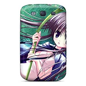 Anti-scratch And Shatterproof Rainforrest Anime Girl Phone Case For Galaxy S3/ High Quality Hard Case