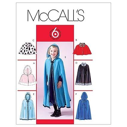 Amazon com: McCall's Patterns M4703 Children's/Girls' Lined
