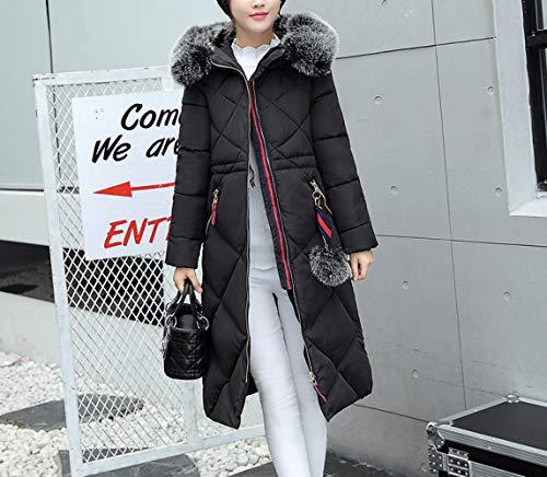 En Duvet Et Manteau Noir Veste Américaine Long Pour D'hiver 2018 Coton Européenne Clothes Femme 85YqZwZ