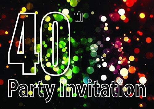10 40 Temática Invitaciones Fiesta Cumpleaños Invitaciones ...