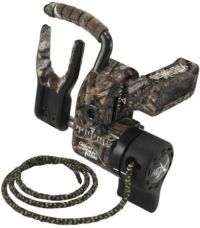 Quality Archery Designs HDX Lost Camo Arrow Rest, Right Hand