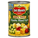 Del Monte Natural Chunky Fruit, 15-Ounce (Pack of 12)