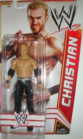 WWE Series 22 Christian Figure by Mattel