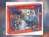 : Papo 39187 Set of 4 Blue knight figures